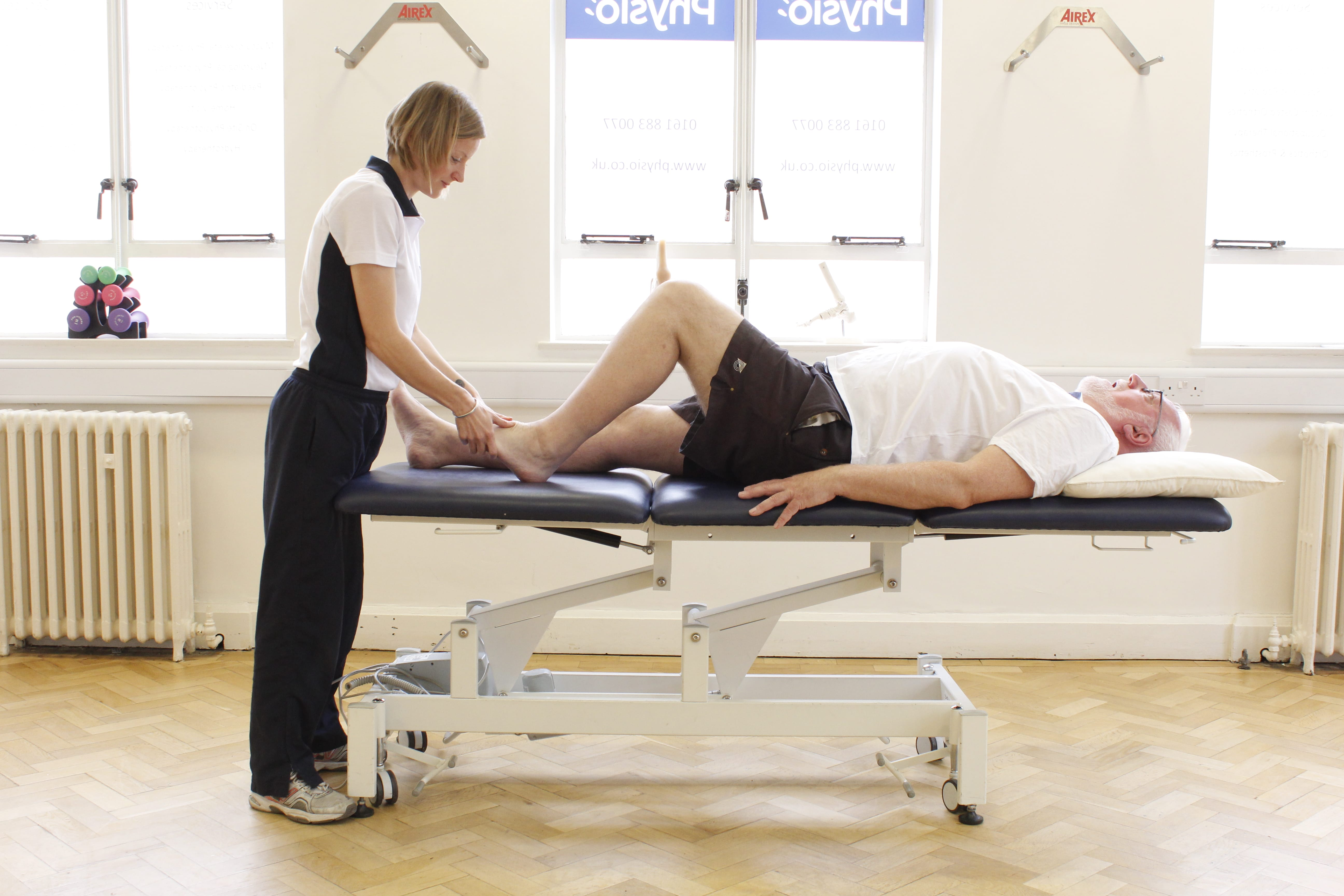 Eldery Physio treatment in Manchester Physio clinic