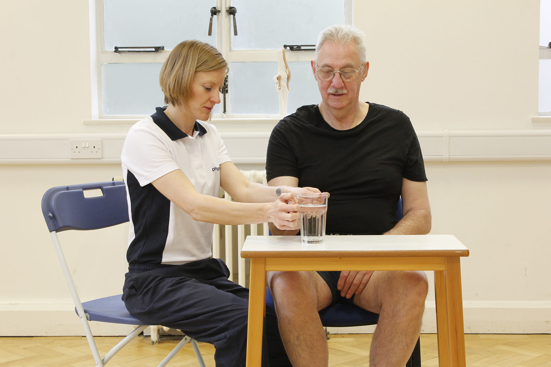Elderly Physio treatment in Manchester Physio clinic