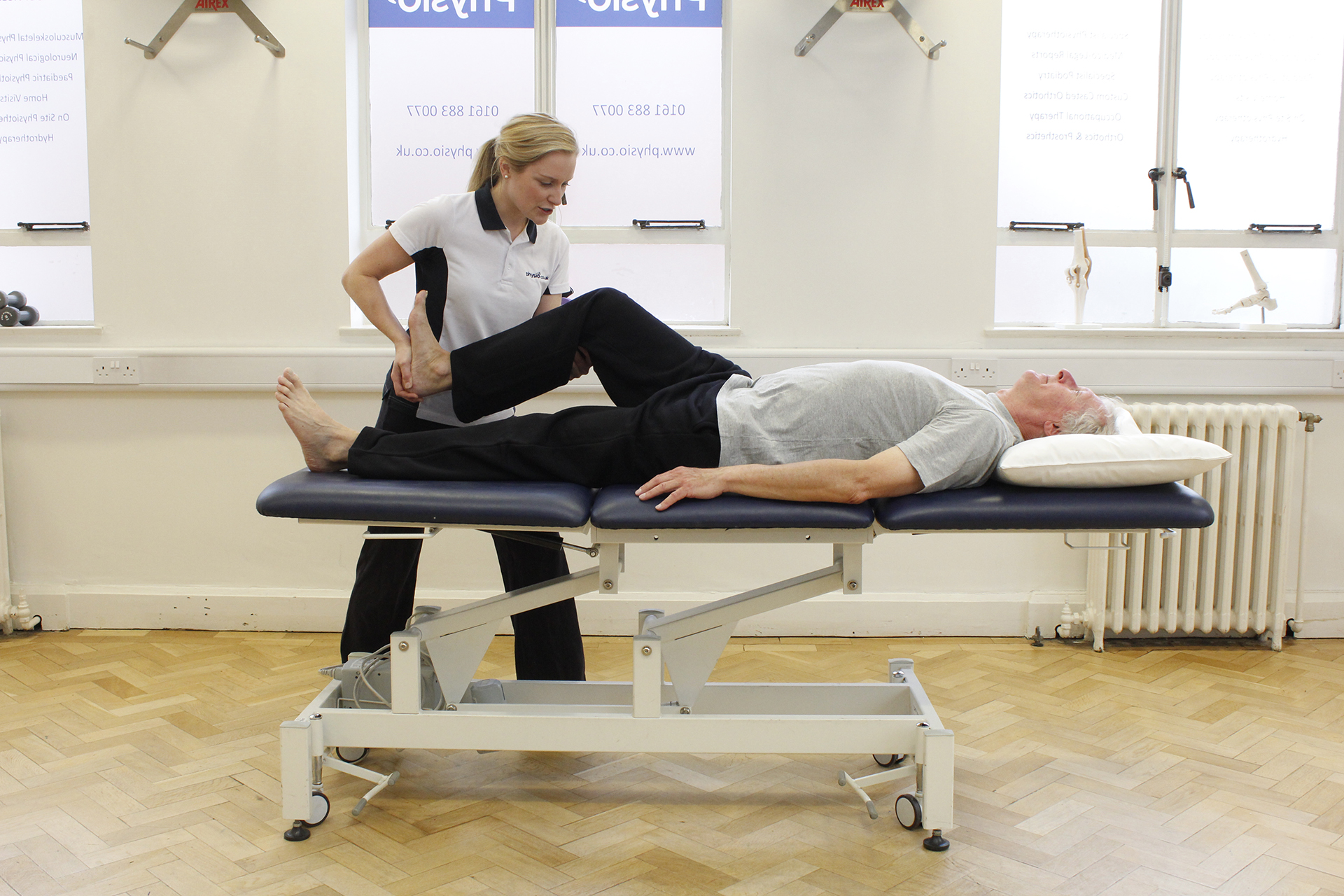 Physiotherapy for Gluteal gait