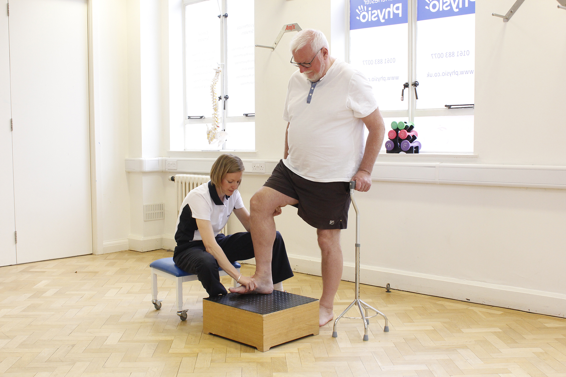 Physiotherapy for Foot drop